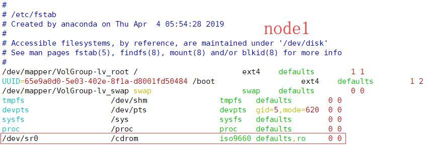 DHCP服务-检验光驱并挂载光盘